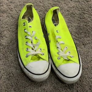 Low rise Converse ALL STAR chuck Taylor's